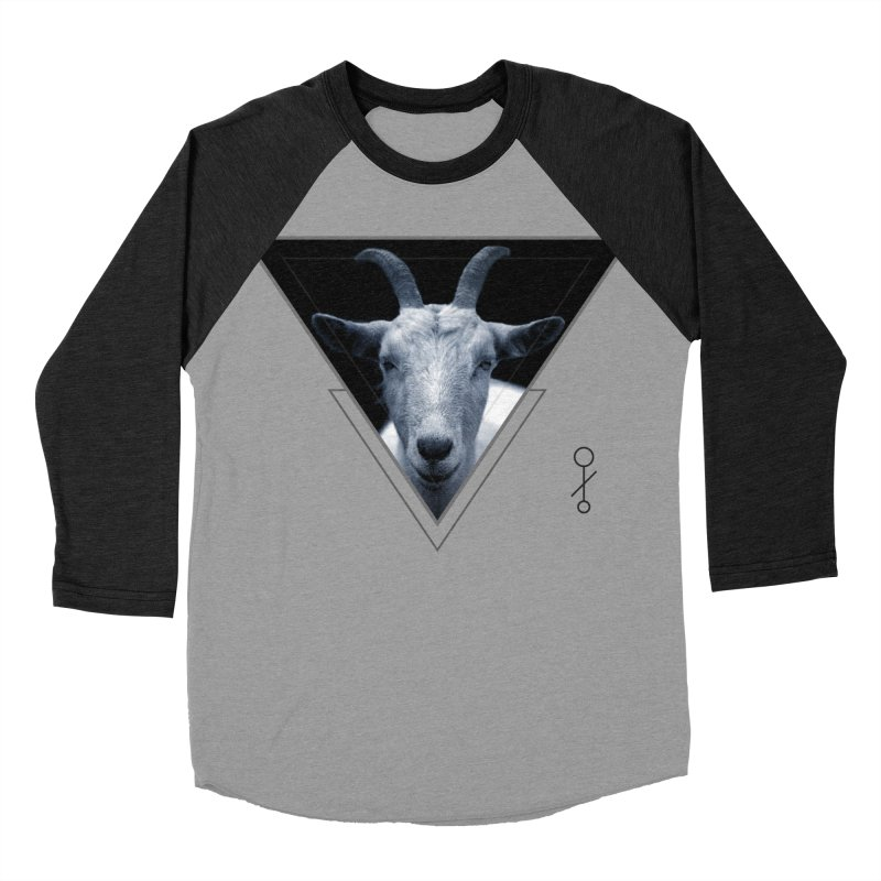 Triangle Goat Sigil Women's Baseball Triblend T-Shirt by radesigns's Artist Shop