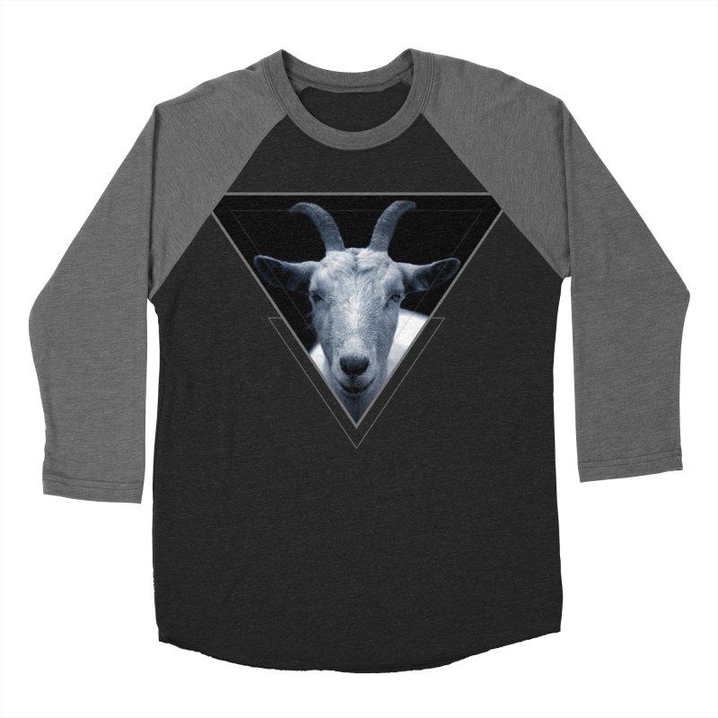 Triangle Goat Sigil Men's Baseball Triblend T-Shirt by radesigns's Artist Shop