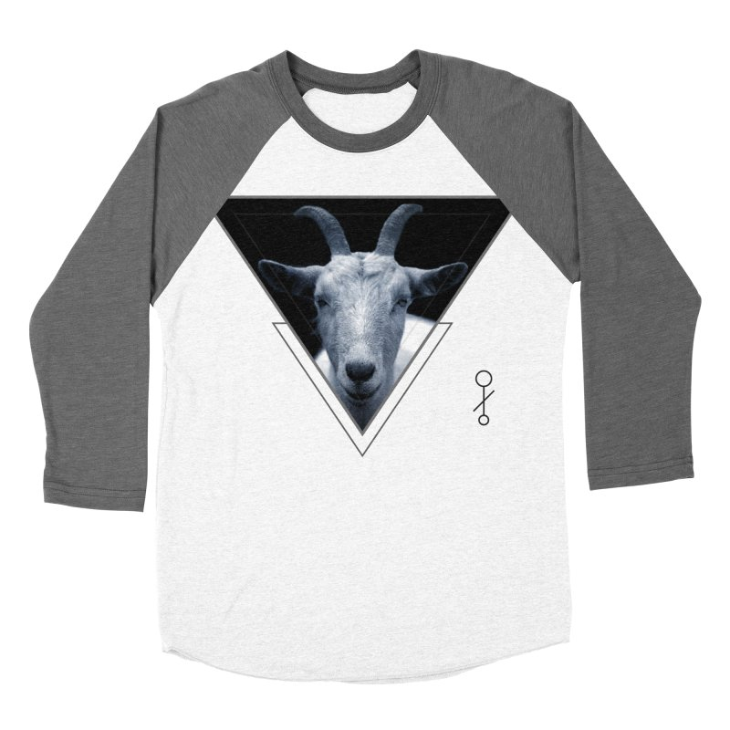 Triangle Goat Sigil Men's Baseball Triblend T-Shirt by radesigns's Artist Shop