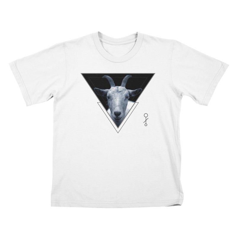 Triangle Goat Sigil Kids T-Shirt by radesigns's Artist Shop
