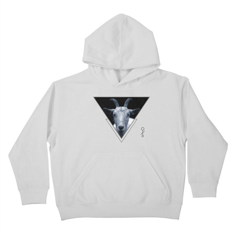 Triangle Goat Sigil Kids Pullover Hoody by radesigns's Artist Shop