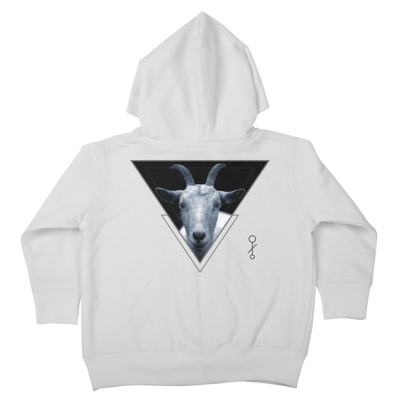 Triangle Goat Sigil Kids Toddler Zip-Up Hoody by radesigns's Artist Shop