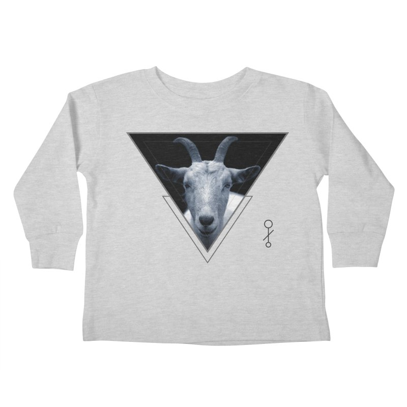 Triangle Goat Sigil Kids Toddler Longsleeve T-Shirt by radesigns's Artist Shop