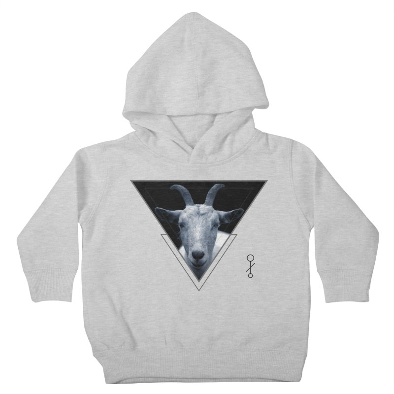 Triangle Goat Sigil Kids Toddler Pullover Hoody by radesigns's Artist Shop