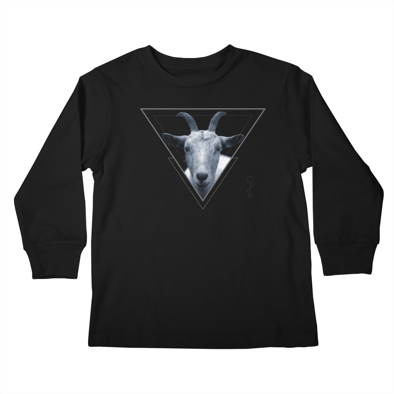 Triangle Goat Sigil Kids Longsleeve T-Shirt by radesigns's Artist Shop