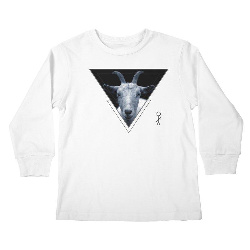 Triangle Goat Sigil Kids Longsleeve T-Shirt by radesigns's Artist Shop