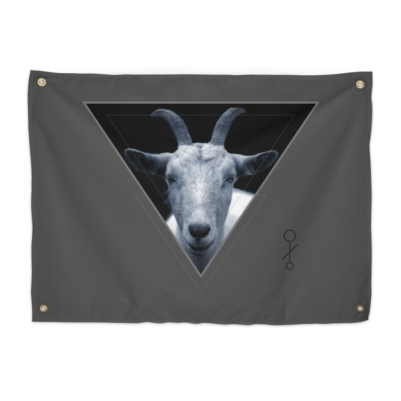 Triangle Goat Sigil Home Tapestry by radesigns's Artist Shop