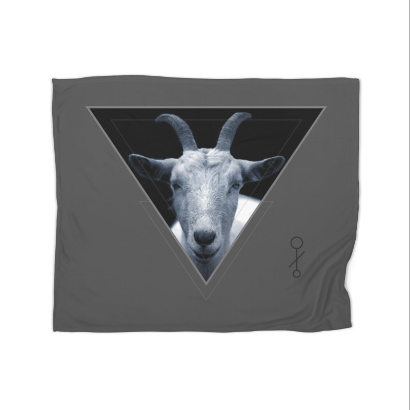 Triangle Goat Sigil Home Blanket by radesigns's Artist Shop