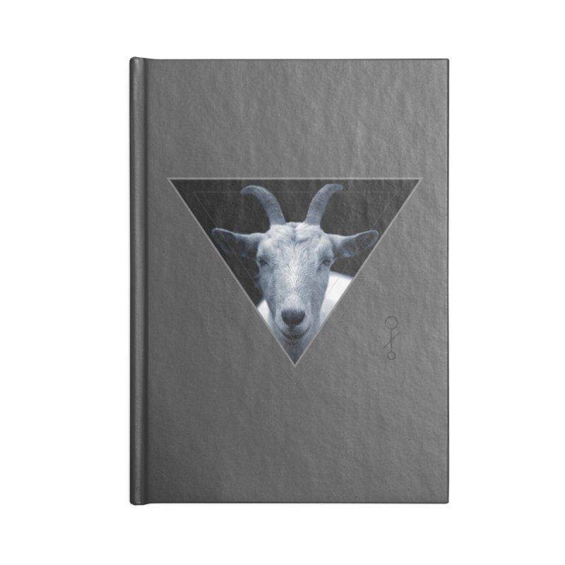 Triangle Goat Sigil Accessories Notebook by radesigns's Artist Shop