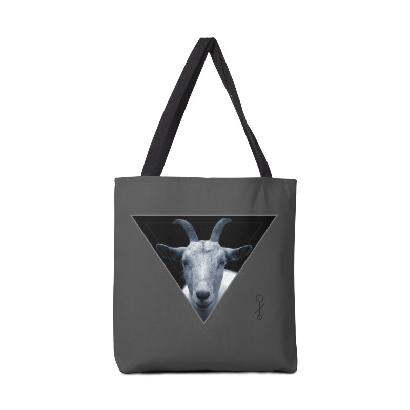 Triangle Goat Sigil Accessories Bag by radesigns's Artist Shop