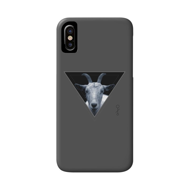Triangle Goat Sigil Accessories Phone Case by radesigns's Artist Shop