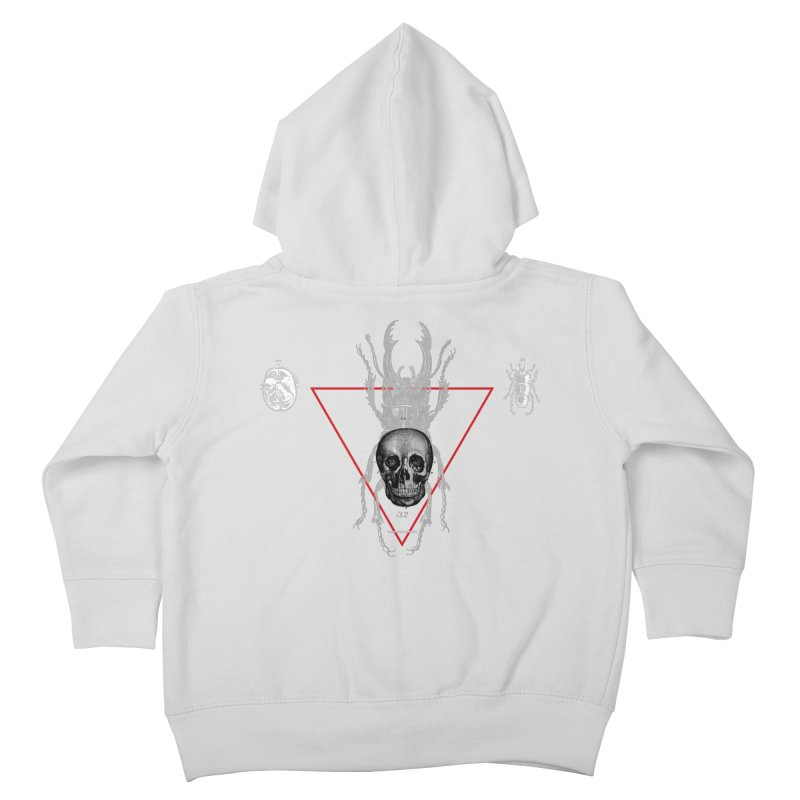 Death Scarab Kids Toddler Zip-Up Hoody by radesigns's Artist Shop