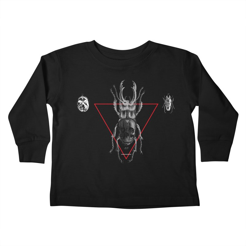 Death Scarab Kids Toddler Longsleeve T-Shirt by radesigns's Artist Shop