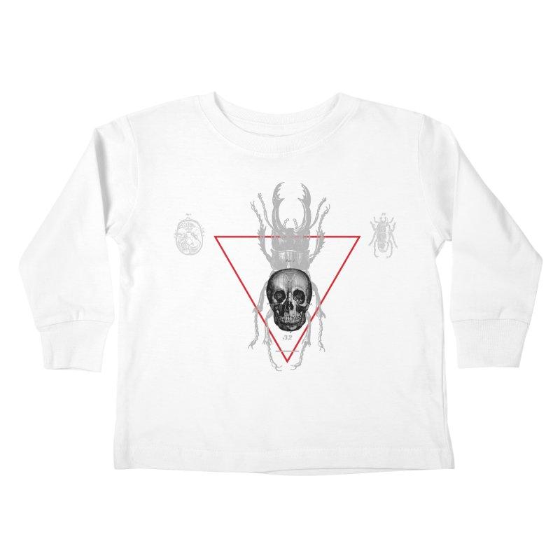 Death Scarab Kids Toddler Longsleeve T-Shirt by radesigns's Artist Shop