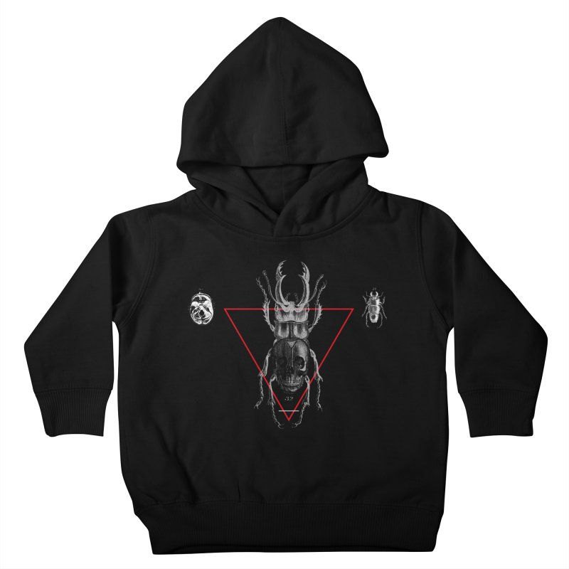 Death Scarab Kids Toddler Pullover Hoody by radesigns's Artist Shop