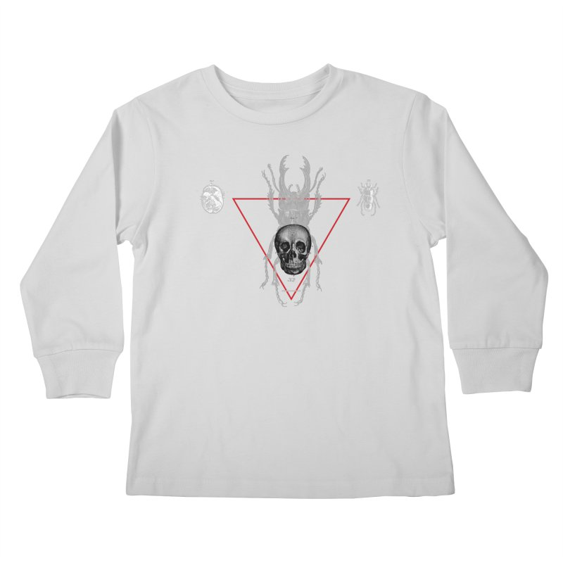 Death Scarab Kids Longsleeve T-Shirt by radesigns's Artist Shop