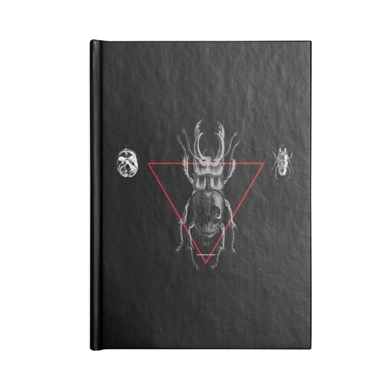 Death Scarab Accessories Notebook by radesigns's Artist Shop