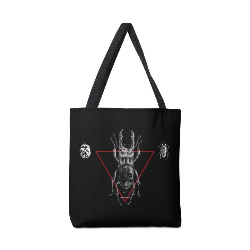Death Scarab Accessories Bag by radesigns's Artist Shop