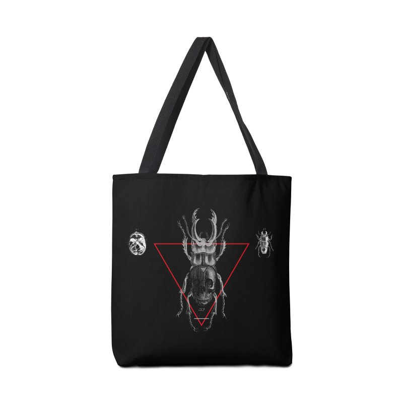 Death Scarab Accessories Bag by radesigns's Artist Shop