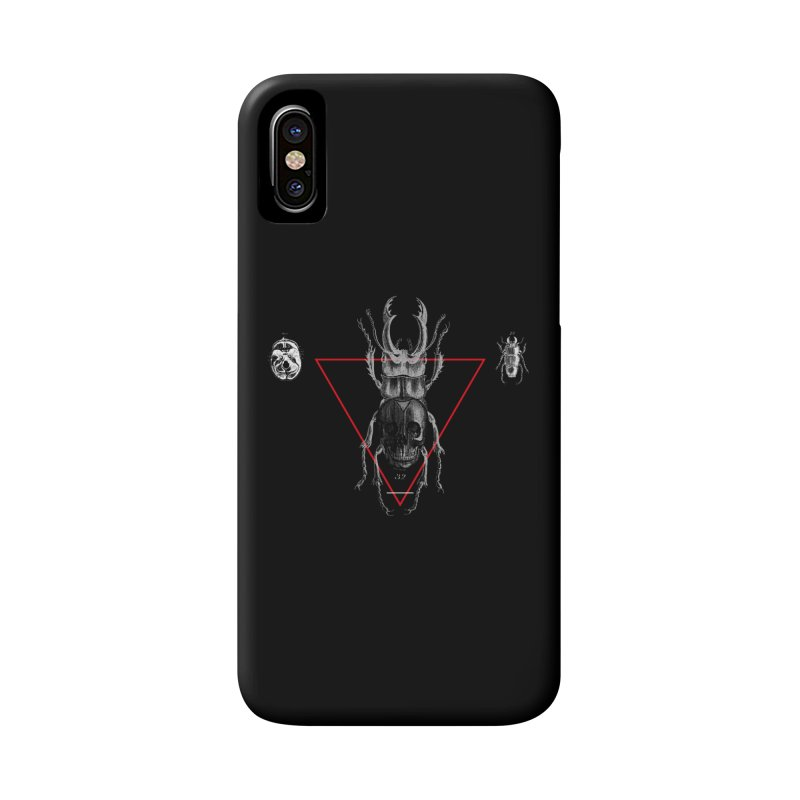 Death Scarab Accessories Phone Case by radesigns's Artist Shop
