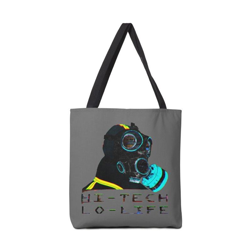 Hi - Tech, Lo - Life Accessories Bag by radesigns's Artist Shop
