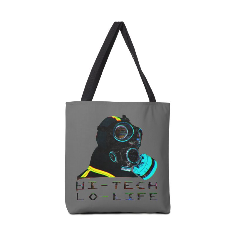Hi - Tech, Lo - Life Accessories Bag by radesigns's Artist Shop
