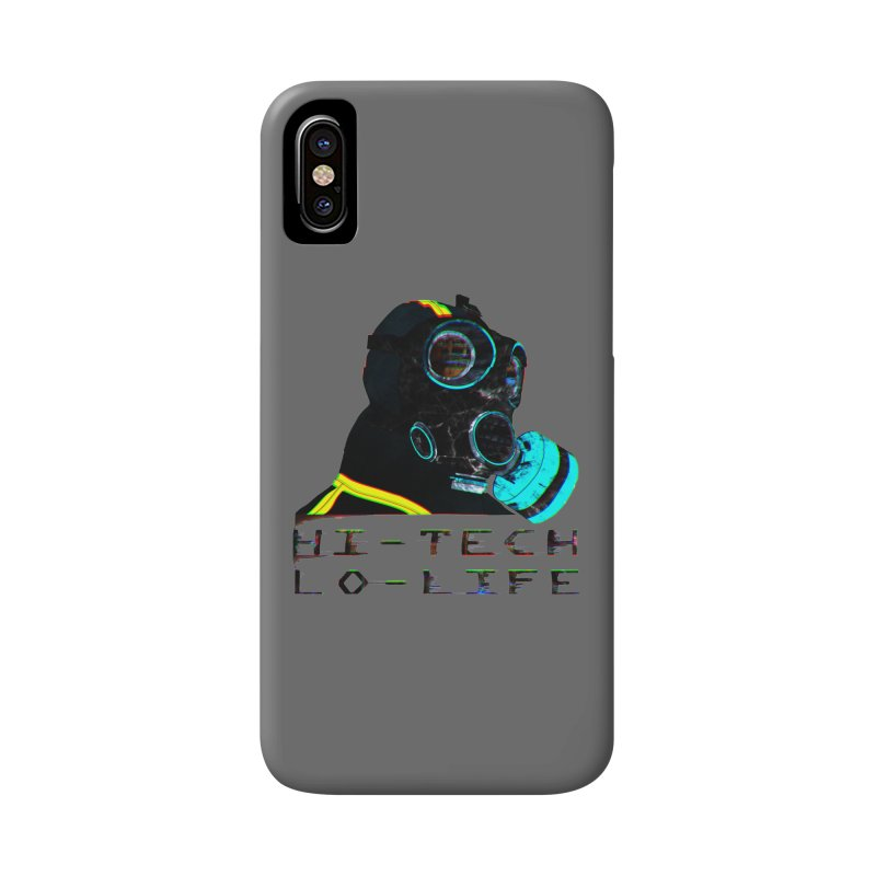 Hi - Tech, Lo - Life Accessories Phone Case by radesigns's Artist Shop