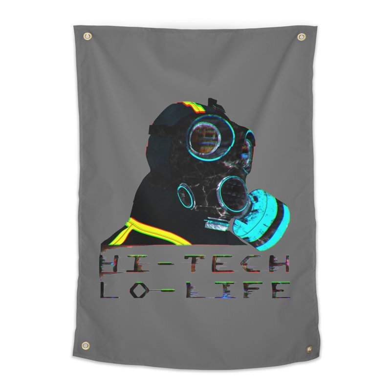 Hi - Tech, Lo - Life Home Tapestry by radesigns's Artist Shop