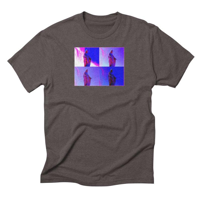 Virgen Men's Triblend T-Shirt by radesigns's Artist Shop
