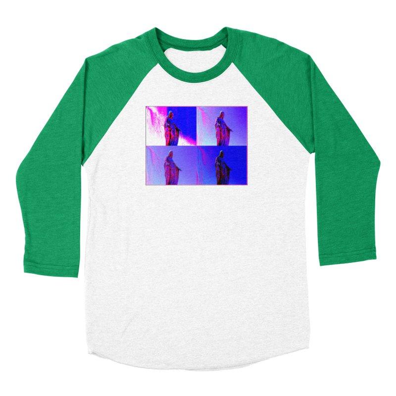 Virgen Women's Baseball Triblend T-Shirt by radesigns's Artist Shop
