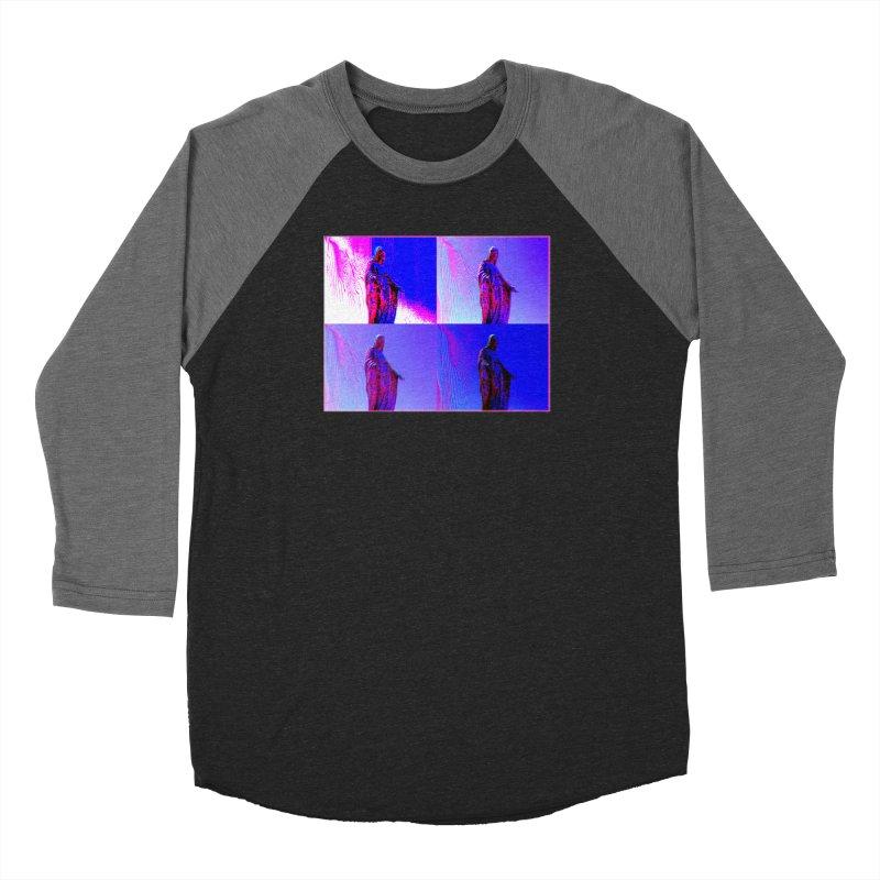 Virgen Men's Baseball Triblend T-Shirt by radesigns's Artist Shop