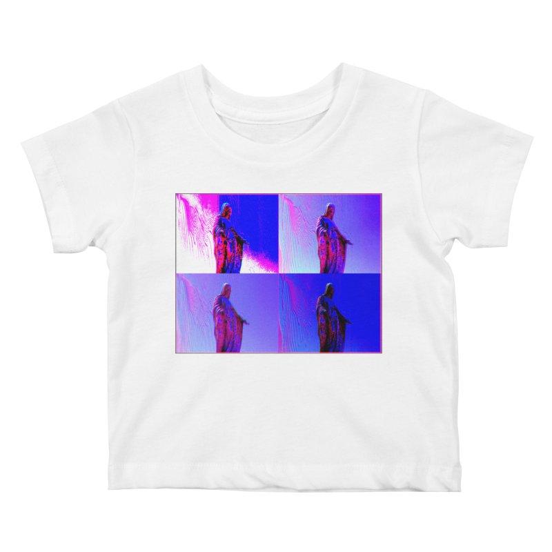 Virgen Kids Baby T-Shirt by radesigns's Artist Shop
