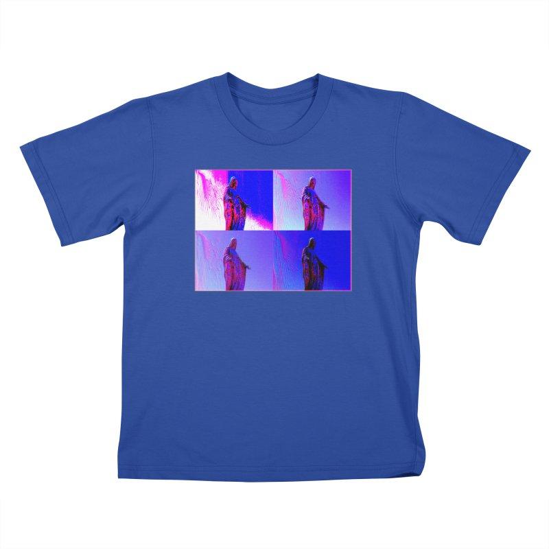 Virgen Kids T-Shirt by radesigns's Artist Shop
