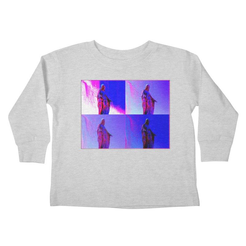 Virgen Kids Toddler Longsleeve T-Shirt by radesigns's Artist Shop