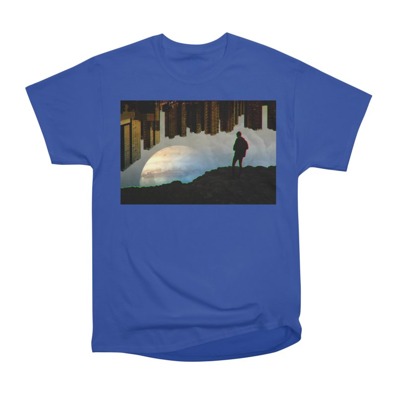 Nice View Men's Classic T-Shirt by radesigns's Artist Shop