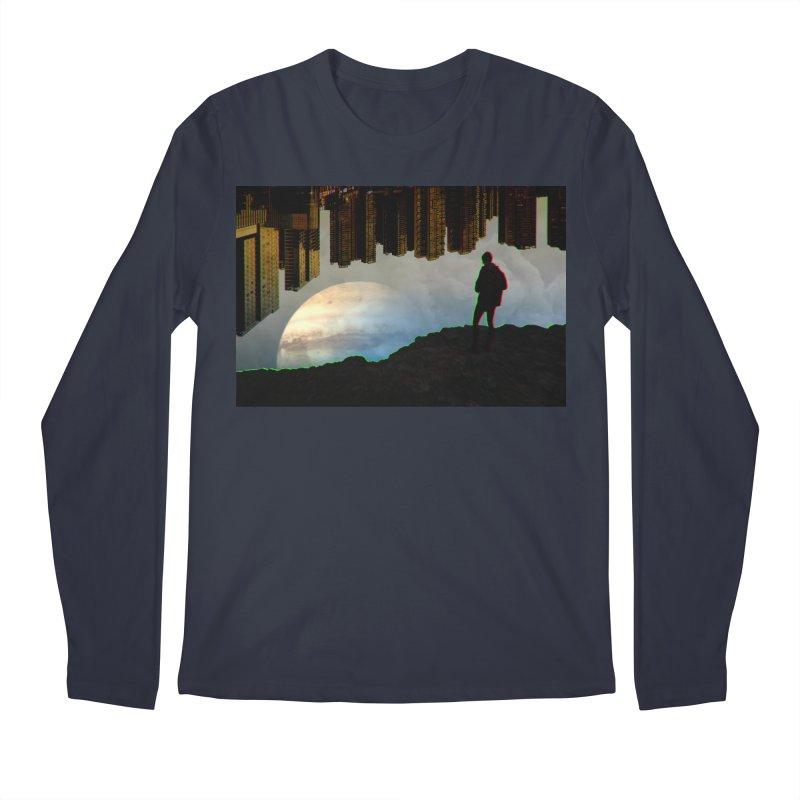 Nice View Men's Longsleeve T-Shirt by radesigns's Artist Shop