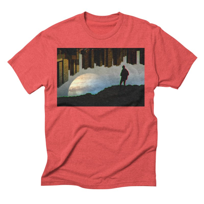 Nice View Men's Triblend T-Shirt by radesigns's Artist Shop