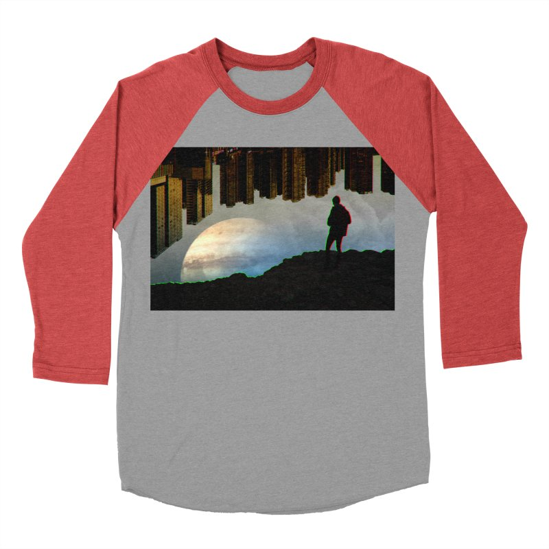 Nice View Men's Baseball Triblend T-Shirt by radesigns's Artist Shop