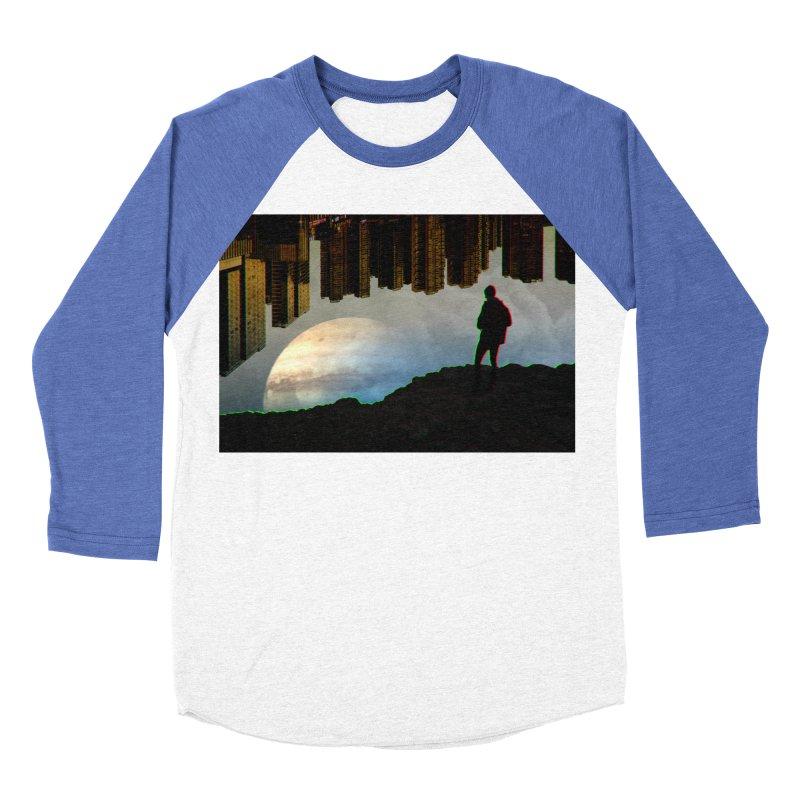 Nice View Men's Baseball Triblend Longsleeve T-Shirt by radesigns's Artist Shop