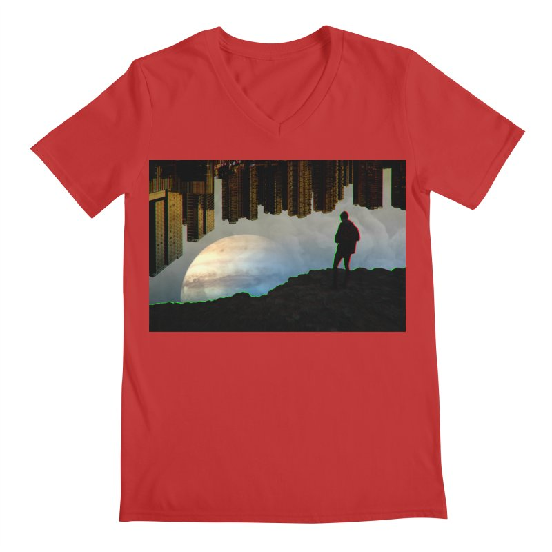 Nice View Men's V-Neck by radesigns's Artist Shop