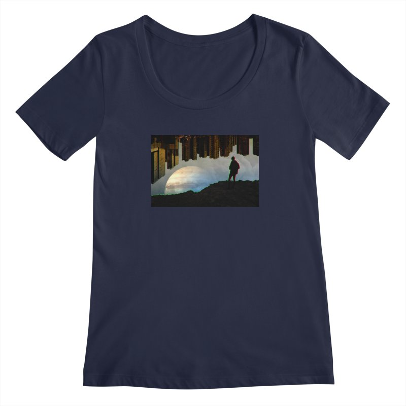 Nice View Women's Scoopneck by radesigns's Artist Shop
