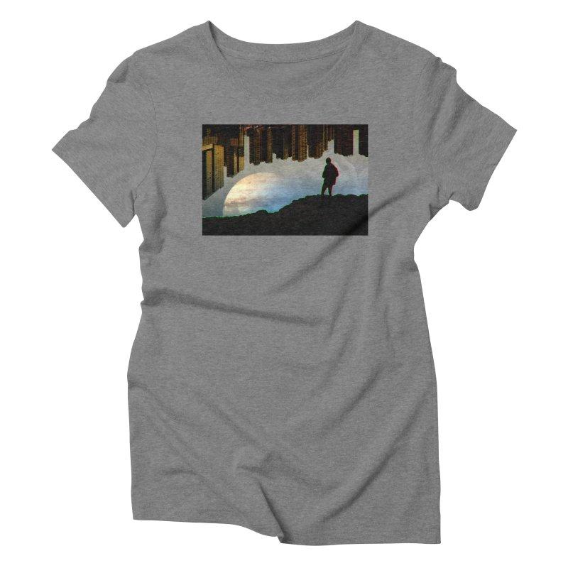 Nice View Women's Triblend T-Shirt by radesigns's Artist Shop