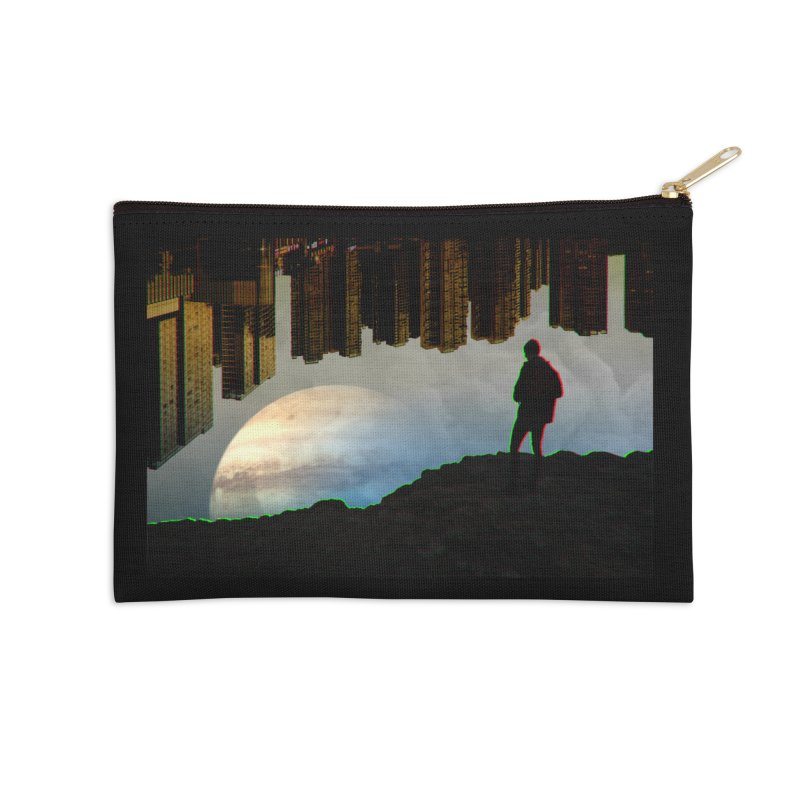 Nice View Accessories Zip Pouch by radesigns's Artist Shop