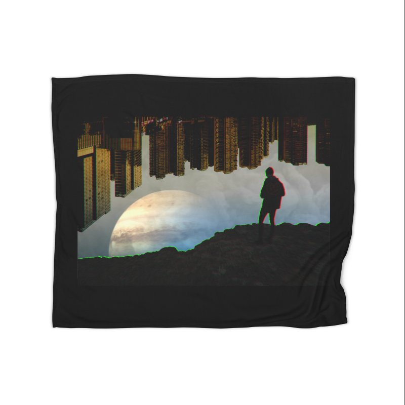 Nice View Home Blanket by radesigns's Artist Shop