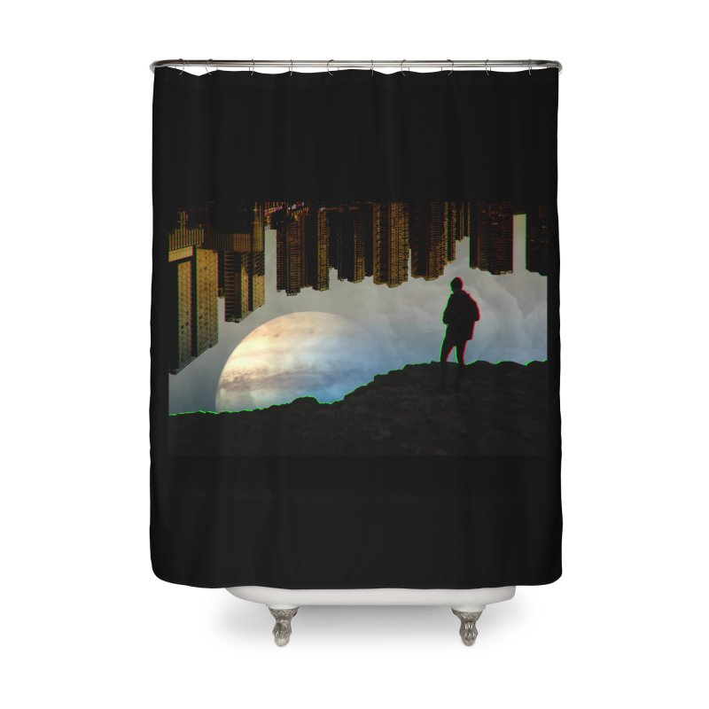 Nice View Home Shower Curtain by radesigns's Artist Shop