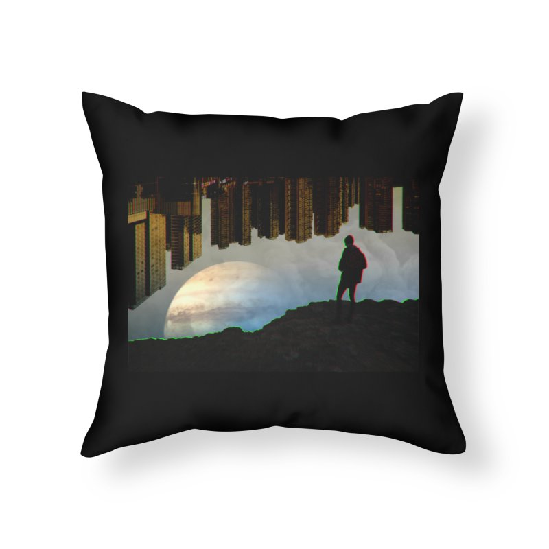 Nice View Home Throw Pillow by radesigns's Artist Shop