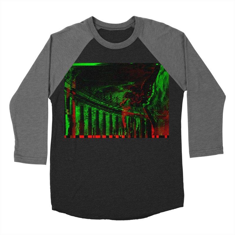 Angels and Pillars Men's Baseball Triblend T-Shirt by radesigns's Artist Shop