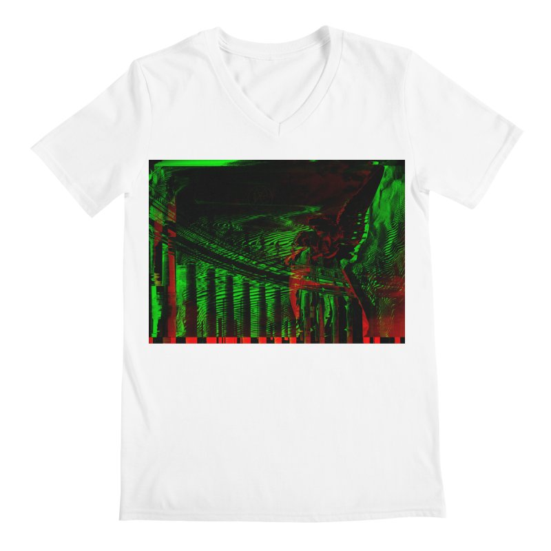 Angels and Pillars Men's V-Neck by radesigns's Artist Shop