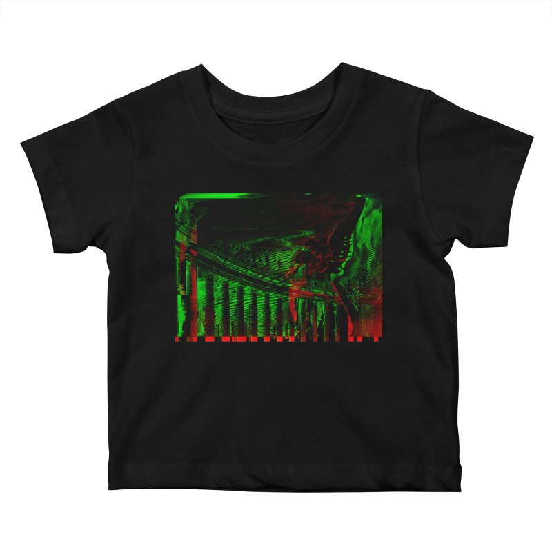Angels and Pillars Kids Baby T-Shirt by radesigns's Artist Shop