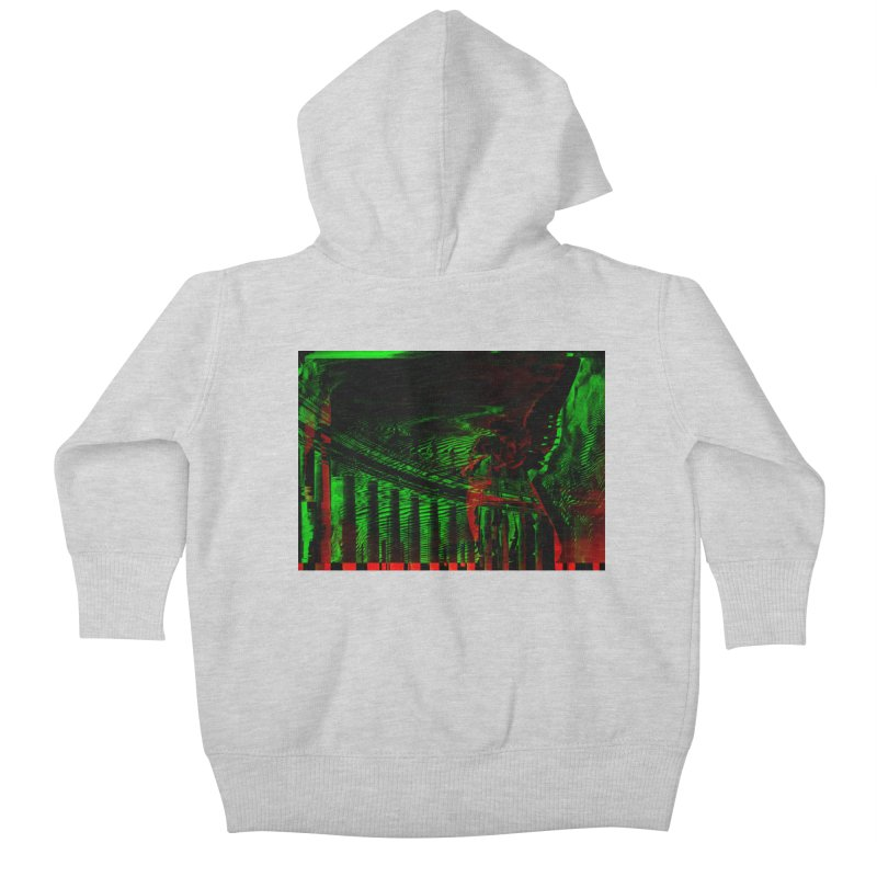 Angels and Pillars Kids Baby Zip-Up Hoody by radesigns's Artist Shop